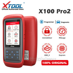 Xtool X100 Pro Obd2 Ecu Reset Ecm Immobilizer Code Reader Scanner Tool Us