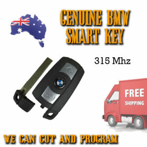 Genuine Bmw Smart Key 315mhz 3 5 6 X Series We Can Cut Program Free Post
