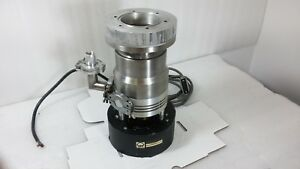 Leybold heraeus Turbovac 150csv W Fan And Top Flange Adapter