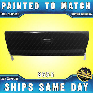 New Painted 8555 Black Steel Tailgate Assembly For 1999 2006 Silverado Sierra