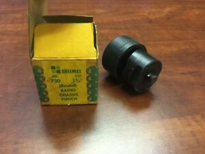 Greenlee 730 1 5 16 Radio Chassis Punch