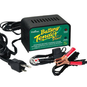 Deltran Battery Tender Plus Charger Maintainer 12v 1 25a Amps 12 Volt 021 0128