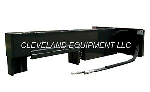 New 30 Ton Inverted Log Wood Splitter Attachment Skid Steer Loader Bobcat Case
