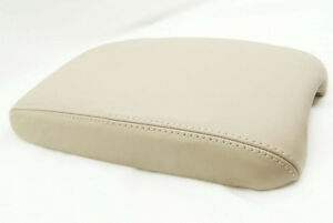 Armrest Center Console Leather Cover For Toyota Land Cruiser 98 07 Beige
