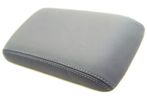 Armrest Center Console Leather Cover For Toyota Land Cruiser 90 97 Gray