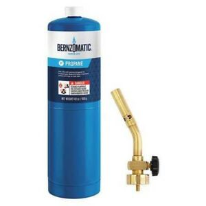 Bernzomatic Ul100 Torch Kit Pencil Flame Propane