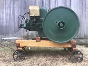 Fuller And Johnson Hit And Miss Engine 2 Hp 1927 Very Good Restored Condition