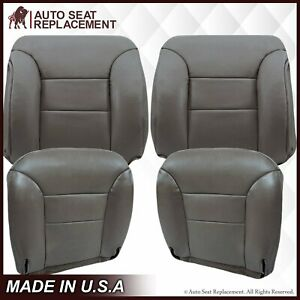 1995 To 1999 Chevrolet Tahoe Suburban Bottom Replacement Seat Cover Gray Pewter