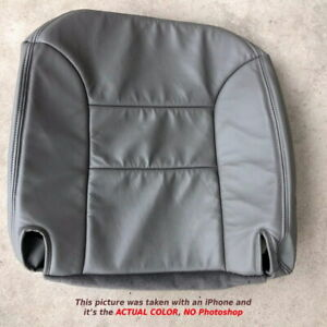 1995 1996 1997 1998 1999 Chevy Tahoe Driver Or Passenger Bottom Seat Cover Gray