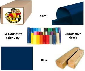 Navy Blue Self adhesive Sign Vinyl 48 X 150 Ft Or 50 Yd 1 Roll