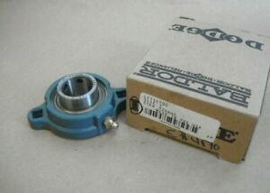 Dodge Lftsc100 Flange Mount Ball Bearing 1 Bore 124645