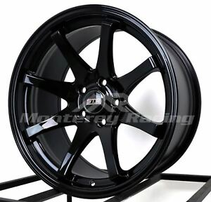 18x9 5x114 3 Str 903 Gloss Black Made For Toyota Dodge Honda Hyundai
