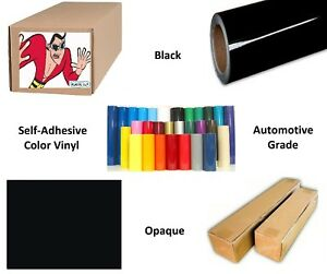 Black Self adhesive Sign Vinyl 60 X 150 Ft Or 50 Yd 1 Roll