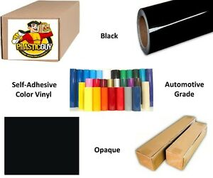 Black Self adhesive Sign Vinyl 24 X 150 Ft Or 50 Yd 1 Roll
