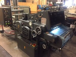 Heidelberg Ksd Cylinder With Double Foil