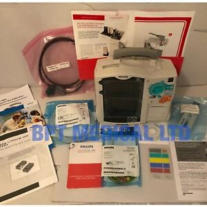 Philips heartstart mrx 3 lead ecg printer paddle lead m3725a cd ac power module