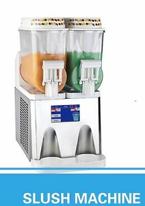 Pasmo Touch Screen T314 2tank Frozens Slushy Set Of 4 Mashines Great Deal