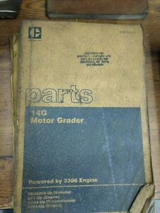 Caterpillar Cat 14g Motor Grader Parts Manual