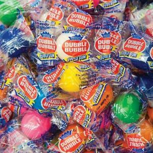 Dubble Bubble Individually Wrapped Gumballs 850 Count