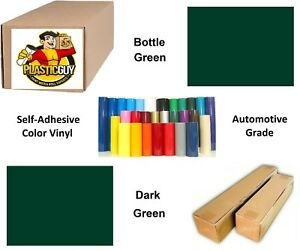 Dark Green Self adhesive Sign Vinyl 30 X 150 Ft Or 50 Yd 1 Roll