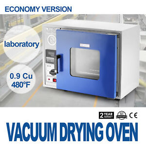 0 9 Cu Ft 480 f Lab Vacuum Air Convection Drying Oven Factory Price Brand New
