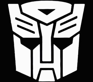 Transformers Autobot Decal Vinyl 18 Colors To Choose From