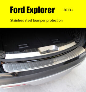 External Rear Bumper Cover Protection For Ford Explorer 2013 2016 Accessories