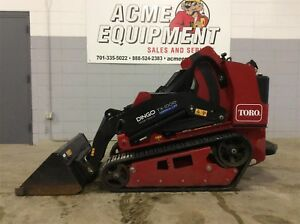 2016 Toro Dingo Tx1000 Wide Track Compact Utility Loader Low Hours Used