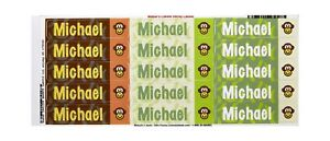Mabel s Labels 40845077 Peel And Stick Personalized Labels With The Name Mich