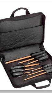 New Klein Tools 33528 9 Piece Insulated Screwdriver Kit