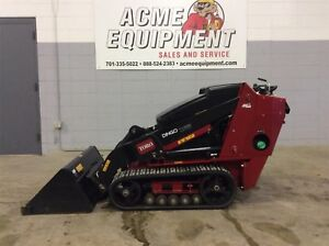 2016 Toro Dingo Tx525 Wide Track Compact Utility Loader Low Hours Used