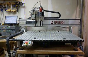 2011 Techno Isel Lc5024 Cnc Router On gantry 2nd Tool 5hp Hsd Spindle