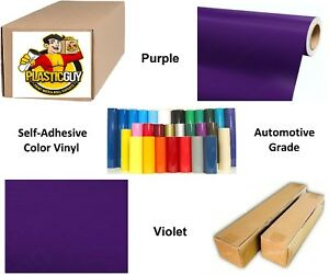 Purple Self adhesive Sign Vinyl 36 X 150 Ft Or 50 Yd 1 Roll