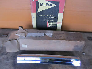 Nos Mopar Bucket Bench Seat Trim 1963 B Body Left Hand Side P N 2440153