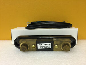 Simpson 06708 30 A 500 Mv Portable Current Shunt New In Box