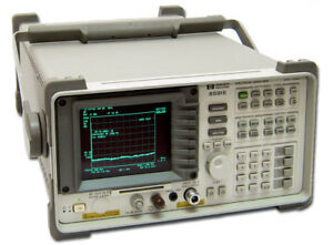 Hp Agilent 8591e Spectrum Analyzer 9 Khz To 1 8 Ghz