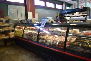 16 Ft Meat Deli Case Run Curve Style Tyler Remanufactured