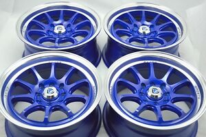 15 Wheels Rims Cobalt Integra Civic Escort Prelude Miata Cooper Xb 4x100 4x114 3