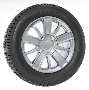 20 Chrome High Country Wheels Chevy Silverado Tahoe Suburban Bridgestone Tires
