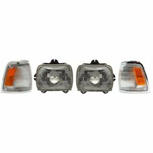 Auto Light Kit New Right And Left Lh Rh For Toyota Pickup Truck 1992 1995