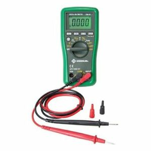 Greenlee Dm 45 Catiii 600v Auto Ranging Digital Multimeter Easy To Read Display