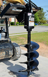 Bobcat Skid Steer Attachment Lowe Bp210 Hex Auger Drive With 24 Bit ship 199
