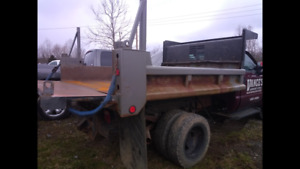 9ft Steel Dually Dump Truck Bed Hydraulic Box Ford Chevy Dodge Loc