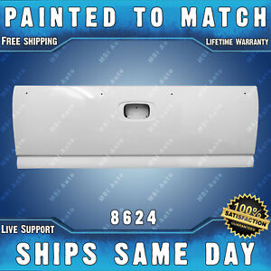 New Painted 8624 White Tailgate Shell For 1999 2006 Chevy Silverado Gmc Sierra