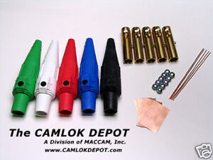 Camlok 2 2 0 Male And Female In Line 3 Phase Kit 10 Pcs