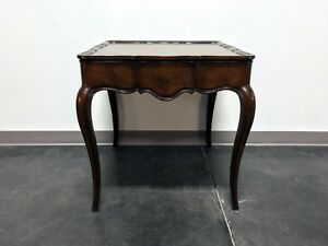 Wellington Hall Solid Mahogany French Country Accent End Lamp Table 2