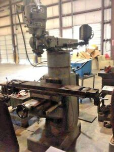 Wells index Model 847 Vertical Milling Machine