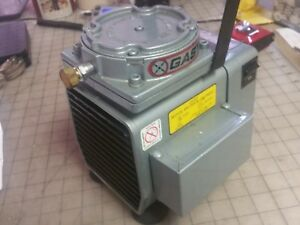 Gast Model Dol 101 db Diaphragm Vacuum Pump Working