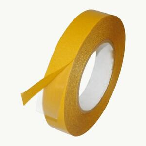 Jvcc Dc 4420lb Double Coated Pvc Tape 1 In X 36 Yds Clear