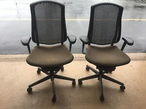 Pair Of Herman Miller Executive Office Chairs celle 2007